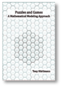 Cover of the Puzzles and Games: A Mathematical Modeling Approach book