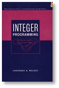 Cover of the Integer Programming book