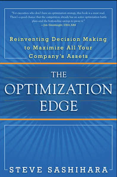 Steve Sashihara's The Optimization Edge Book Cover