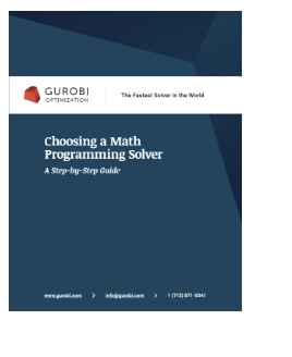 Cover of Choosing a Math Programming Solver